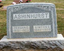 Zeruah C. <i>Tompkins</i> Ashinhurst