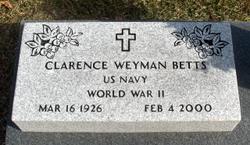 Clarence Weyman Betts
