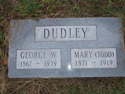 Mary <i>Todd</i> Dudley