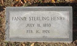 Fannie <i>Sterling</i> Henry