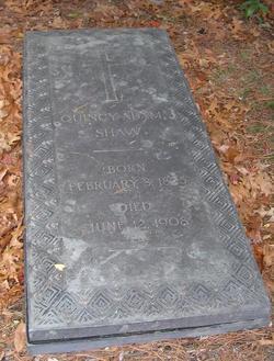 Quincy Adams Shaw
