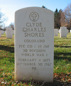 Clyde Charles Shores