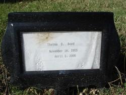 Thelma D. Boyd