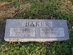 Christian Chris Baker, Sr