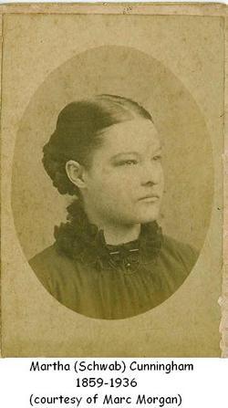 Martha Magdalina <i>Schwab</i> Cunningham