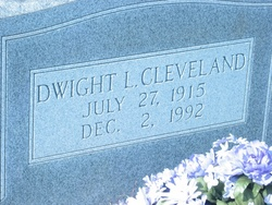 Dwight L. Cleveland