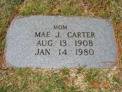 Mae Foley <i>Jackson</i> Carter