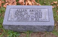 Allen Bruce