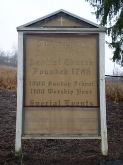 Mount Hermon Baptist Cemetery