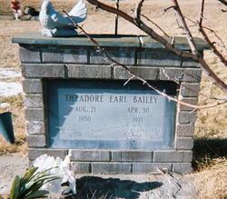 Theadore Earl Bailey