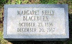 Margaret Elizabeth <i>Neely</i> Blackburn