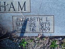 Elizabeth <i>Long</i> Latham