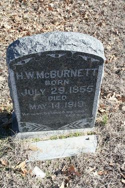 Harrison Wardlow McBurnett