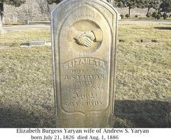 Elizabeth <i>Burgess</i> Yaryan