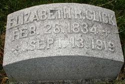 Elizabeth Lizzie <i>Ryder</i> Glick
