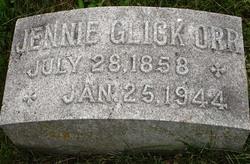 Jennie I. <i>Glick</i> Orr