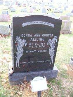 Donna Ann <i>Gunter</i> Alcino