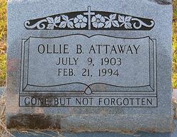 Ollie <i>Bryan</i> Attaway
