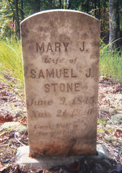 Mary Jane <i>Hollandsworth</i> Stone