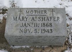 Mary Ann <i>Courtad</i> Shafer