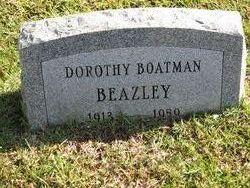 Dorothy <i>Boatman</i> Beazley