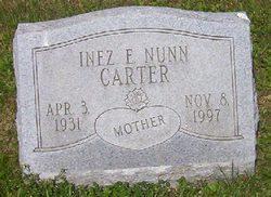 Inez E <i>Nunn</i> Carter