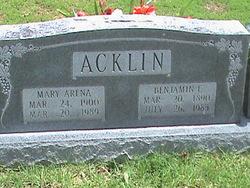 Mary Arena Acklin
