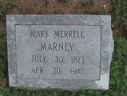 Mary Thursey <i>Cockrum</i> Marney