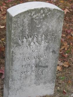 Sgt Lawrence Jones