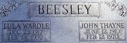 John Thayne Beesley