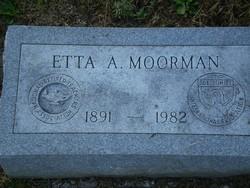 Etta Avix <i>Vaux</i> Moorman