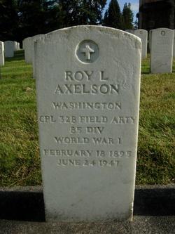 Roy L Axelson
