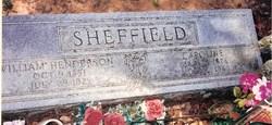 Caroline <i>Mitchell</i> Sheffield