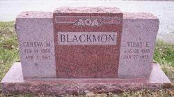 Vilas Edward Blackmon
