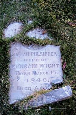 Sariah <i>Pulsipher</i> Wight