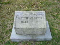 Martha A. <i>Gentry</i> Webster