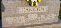 Ollie May <i>Woodrum</i> Cannon