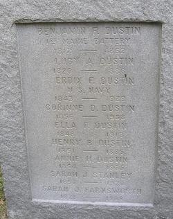 Pvt Benjamin F. Dustin
