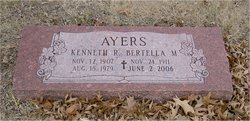 Bertella M. <i>Taylor</i> Ayers
