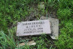 Sarah Frances Ashley