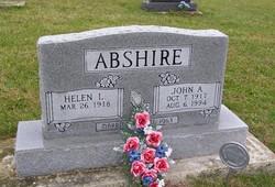 Helen L <i>Lewis</i> Abshire