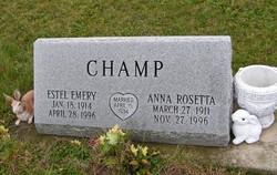 Anna Rosetta Champ
