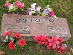 Beulah Margaret <i>Wills</i> Ball