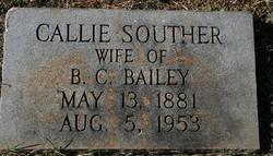 Caldonia Callie <i>Souther</i> Bailey