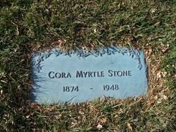 Cora Myrtle <i>Cronk</i> Stone