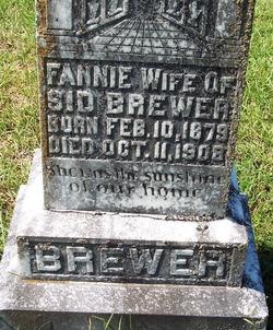 Fannie <i>Meador</i> Brewer