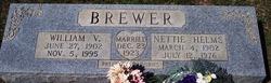 Nettie <i>Helms</i> Brewer
