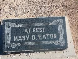 Mary Orestus <i>Evans</i> Eaton