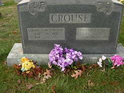Sarah Ann <i>Woodruff</i> Crouse