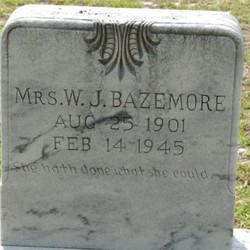 Bertie Ruth <i>McDougall</i> Bazemore